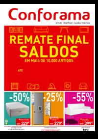 Folhetos Conforama Amadora - Alfragide : Remate final - Saldos