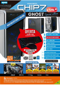 Folhetos CHIP7 Coruche : Special edition GHOST