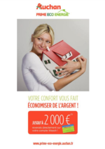 Prospectus Auchan : Votre confort vous fait économiser de l'argent !