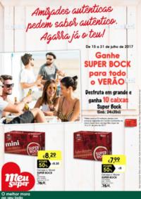Folhetos Meu Super Torrão : Ganhe Super Bock para todo o verão