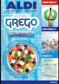 Folhetos Aldi Alfragide : Ao estilo grego