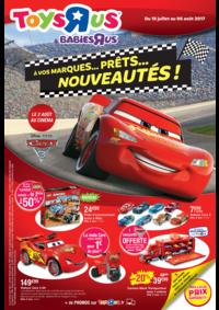 Prospectus Toys R Us VILLEBON sur YVETTE : À vos marques...prêts...nouveautés !