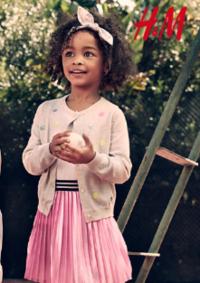 Catalogues et collections H&M Argenteuil : Lookbook enfant L'été en plein air