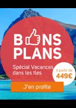 Promos et remises  : Bons plans : vacances dans les îles
