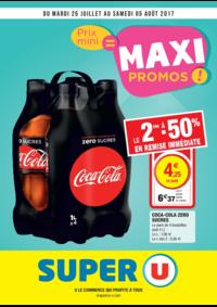 Prospectus Super U LE THILLAY : Prix mini = maxi promos !