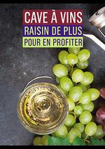 Promos et remises  : Cave à vins raisin de plus pour en profiter