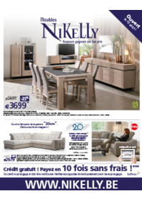 Catalogues et collections Meubles Nikelly : Toutes les collections Nikelly