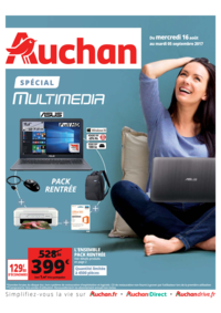 Prospectus Auchan PUTEAUX : Spécial multimedia
