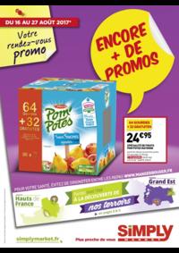 Prospectus Simply Market PLAISIR : Encore + de promos