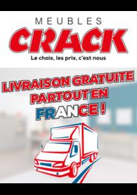 Prospectus Meubles Crack : Livraison gratuite partout en France !