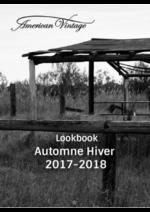 Catalogues et collections  : Lookbook automne hiver 2017-2018