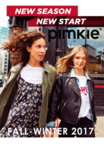 Catalogues et collections Pimkie : Lookbook Fall-Winter 2017