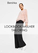 Catálogos e Coleções Bershka : Lookbook mulher Tailoring