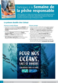 Prospectus Colruyt ANDERLECHT - VEEWEYDE : Participez à la semaine de la pêche responsable