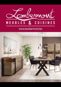 Prospectus Meubles Lambermont  : Meubles et cuisines Lambermont