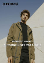 Catalogues et collections IKKS : Lookbook homme automne hiver 2017-2018