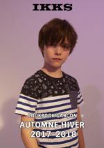 Catalogues et collections IKKS : Lookbook garçon automne hiver 2017-2018