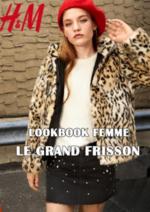 Catalogues et collections H&M : Lookbook femme Le grand frisson
