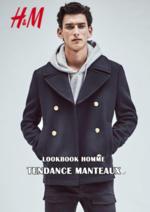 Promos et remises  : Lookbook homme Tendance manteaux