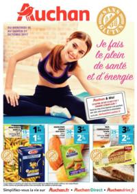 Prospectus Auchan ILLKIRCH GRAFFENSTADEN : Je fais le plein de santé et d'énergie
