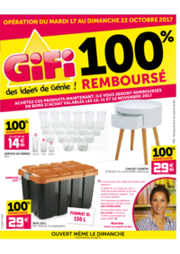 Prospectus Gifi LONGPONT SUR ORGE : 100% remboursé