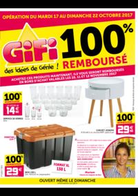 Prospectus Gifi VILLEMOMBLE : 100% remboursé