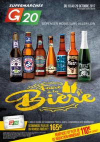 Prospectus G20 ANGERS Savary : Foire à la bière