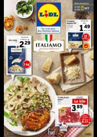 Prospectus Lidl REDON : Italiamo passione italiana