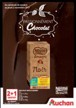 Prospectus Auchan : Passionnément chocolat