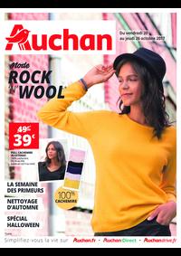 Prospectus Auchan ISSY LES MOULINEAUX : Mode Rock'N'Wool