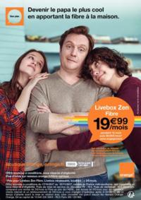 Prospectus Orange EPINAY SUR SEINE : Devenir le papa le plus cool en apportant la fibre à la maison