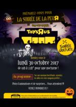 Evénements Toys R Us : La soirée de la peur