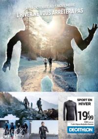 Prospectus DECATHLON Gennevilliers : L'hiver ne vous arrêtera pas