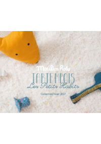 Catalogues et collections Moulin Roty PARIS : La collection hiver 2017
