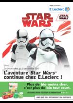 Prospectus  : L'aventure Star Wars continue chez E.Leclerc