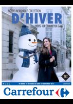 Prospectus Carrefour : Notre incroyable collection d'hiver vous ira comme un gant !