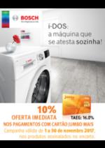 Promoções e descontos Jumbo : Bosch 10% Oferta Imediata Cartão Jumbo