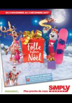 Catalogues et collections Simply Market : La folle histoire de Noël