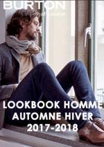 Promos et remises  : Lookbook homme automne hiver 2017-2018