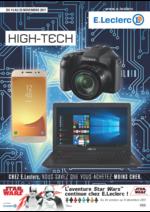 Prospectus E.Leclerc : High-tech