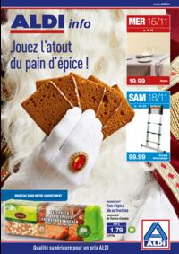 Prospectus Aldi MALONNE : Jouez l'atout du pain d'épice !