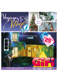 Prospectus Gifi VILLEMOMBLE : Voyagez au pays de Noël