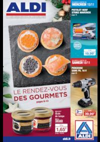 Prospectus Aldi Pierres : Le rendez-vous des gourmets