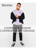 Catalogues et collections Bershka : Lookbook homme : Contemporary Grunge