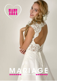 Catalogues et collections Tati SARTROUVILLE : Mariage Collection 2018