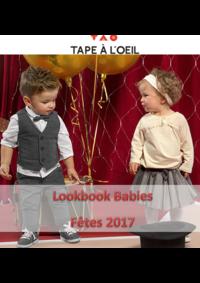 Catalogues et collections Tape à l'oeil THIAIS : Lookbook Babies : Fêtes 2017