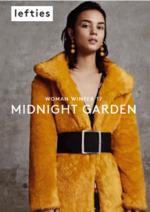 Catálogos e Coleções Lefties : Lookbook Woman: Midnight Garden