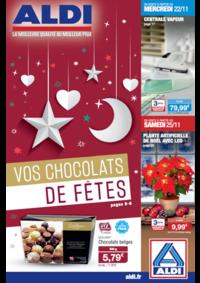 Prospectus Aldi Loches : Vos chocolats de fêtes
