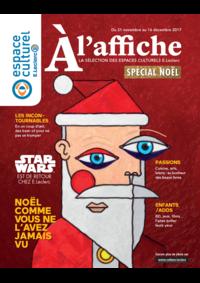 Journaux et magazines Espace culturel E.Leclerc CLICHY SOUS BOIS : A l'affiche Spécial Noël