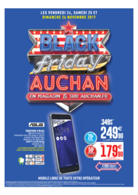 Prospectus Auchan PUTEAUX : Black friday